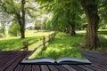 Landscape Image Of Beautiful V...