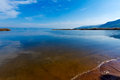 Landscape of kinneret lake galilee sea israel Stock Photography