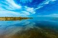 Landscape of kinneret lake galilee sea israel Royalty Free Stock Images