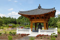 Landscape Korean Bell Garden Virginia Stock Photos
