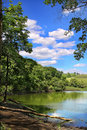 Landscape of the lake Stock Photo