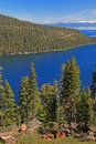 Landscape of Lake Tahoe in California Stock Photos