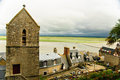 Landscape from Mont Saint Michel, Normandy, France Royalty Free Stock Photos
