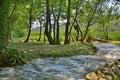 Landscape Near Roski Slap Royalty Free Stock Photo