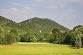 Landscape near studenci bosnia and herzegovina Royalty Free Stock Images