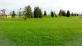 Landscape nice green in bijlmerpark amsterdam in holland Royalty Free Stock Image