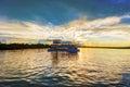 Landscape Over Zambezi River