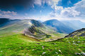 Landscape from Parang mountains, Romania Stock Photos
