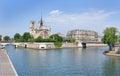 Landscape of Paris Royalty Free Stock Photo