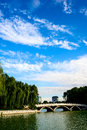 Landscape of a park in beijing Stock Photography
