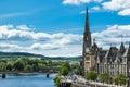 Landscape of Perth Scotland Royalty Free Stock Photo