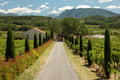 Landscape in Provence, France Stock Photo