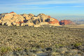 Landscape in Red Rock Canyon SP Stock Photography