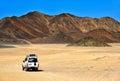 Landscape of Sahara desert Royalty Free Stock Photo
