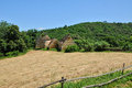 Landscape of sainte mondane in perigord france Royalty Free Stock Image