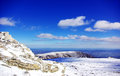 Landscape of serra da estrela portugal Royalty Free Stock Photo
