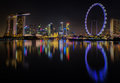 Landscape of Singapore Royalty Free Stock Photo