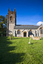 Landscape of small church Royalty Free Stock Photos