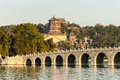 Landscape of summer palace beijing Royalty Free Stock Photos