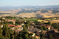 Landscape in toscana Royalty Free Stock Photo