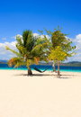 Landscape of tropical island. Coron island. Philippines. Royalty Free Stock Photo