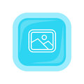 Landscape Vector Icon In Flat Style Design