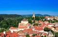 Landscape in Veszprem Royalty Free Stock Photo