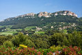 Landscape View of Cassis Royalty Free Stock Images