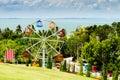 Landscape view in garden of 7 heaven krabi thailand Royalty Free Stock Photo