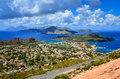 Landscape View Of Lipari Islan...