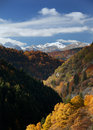 Landscape view of Mavrovo Royalty Free Stock Photography