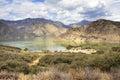 Landscape view of Pyramid Lake, California, USA Royalty Free Stock Photo