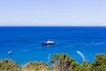 Landscape of zante island greece the beautiful in Royalty Free Stock Photo