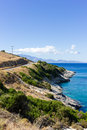 Landscape of zante island greece the beautiful in Royalty Free Stock Photos