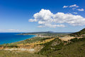 Landscape of zante island greece the beautiful in Royalty Free Stock Image