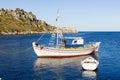 Landscape of zante island greece the beautiful in Stock Photos