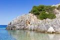 Landscape of zante island greece the beautiful in Stock Image