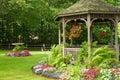 Terénne letné chata v parku