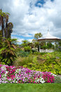 Landscaping near Rotorua Bath House/Museum Stock Images