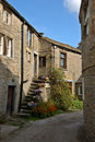 Lane in Grassington Royalty Free Stock Images