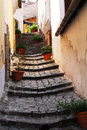 A lane in Szentendre Royalty Free Stock Photo