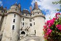 Langeais Chateau, France Stock Photo