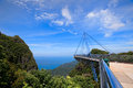 Langkawi Sky Bridge Stock Photo