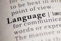 Language Royalty Free Stock Photo