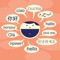 Language Savvy Royalty Free Stock Photo