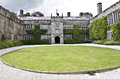 Lanhydrock house in bobin cornwall england Royalty Free Stock Photo