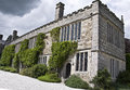 Lanhydrock house north wing the in bodmin cornwall england Royalty Free Stock Images