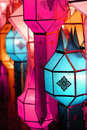 Lanna lantern Royalty Free Stock Images