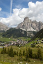 Lanscape of Corvara Royalty Free Stock Photos