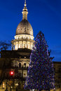 Lansing, Michigan - State Capitol Royalty Free Stock Image